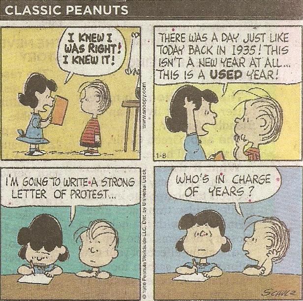 Peanuts 01-08-13