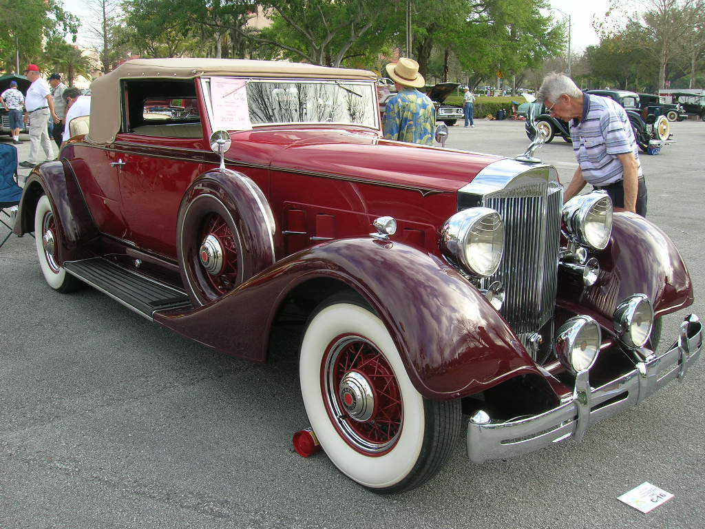 A Packard from the 1930's