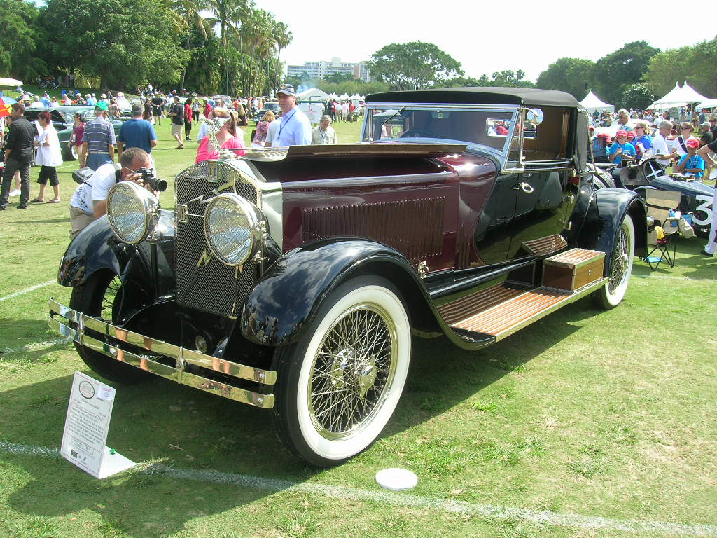 An Isotta-Fraschini from the 1930's