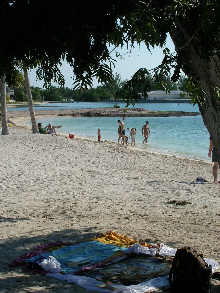 9 Beachgoers
