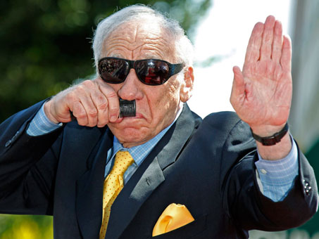 an analysis of mel brooks as a jewish comedian Early on in their careers, woody allen, carl reiner, larry gelbart, neil simon and mel brooks all produced gags for the american comedian sid caesar.