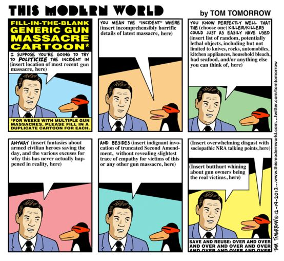 Tom Tomorrow Generic Gun Control 09-16-13