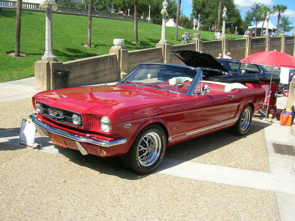 1966 Ford Mustang GT - The car that gave Bobby Cramer his nickname.