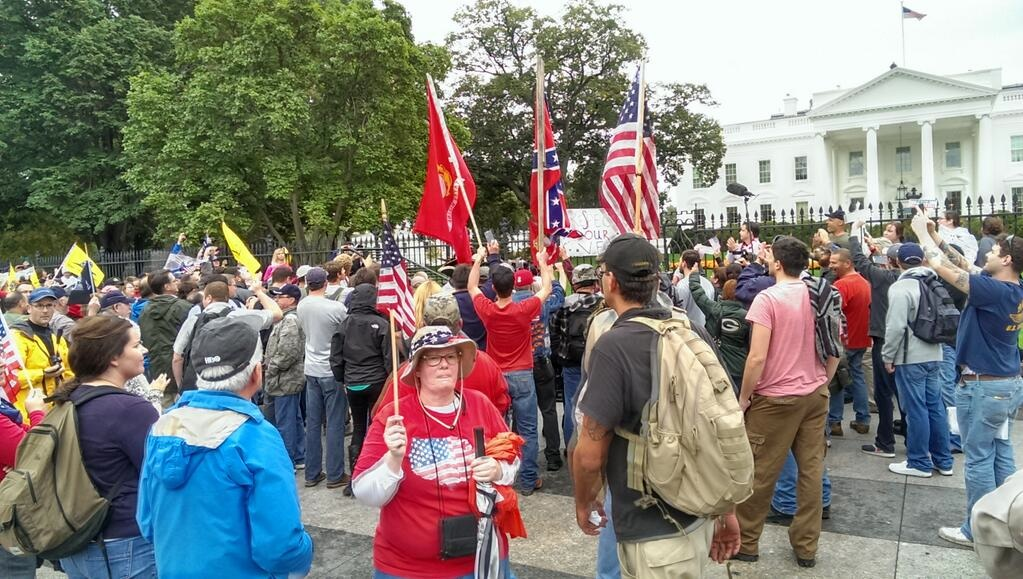 Confederate Flag at White House 10-13-13