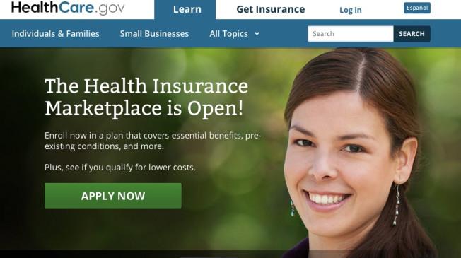 Obamacare Screen Shot 10-01-13