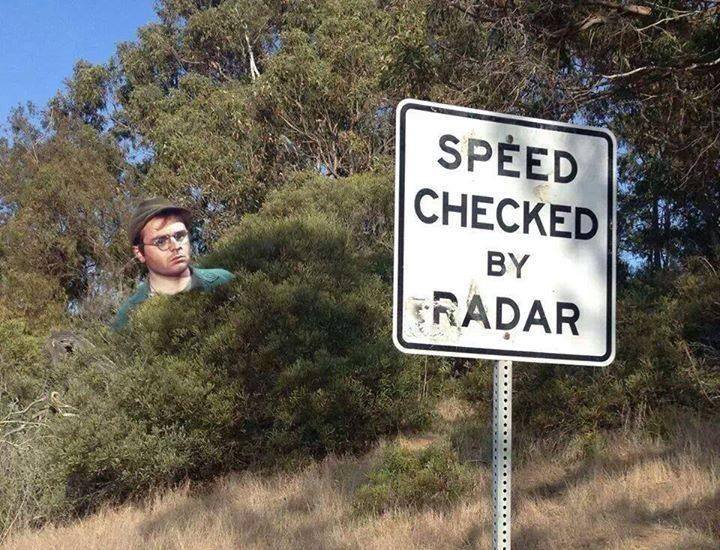 Speed Checked by Radar - 11-12-13
