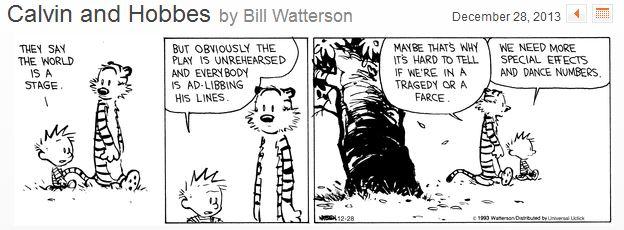 Calvin & Hobbes 12-28-13