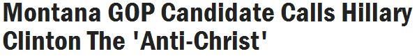 Clinton Anti-Christ 01-31-14