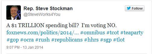 Stockman Tweet 01-17-14