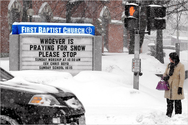 Stop Praying for Snow 01-03-14
