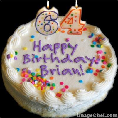 Brian's Birthday Cake 03-08-14