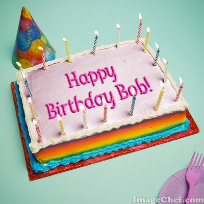 Happy Birthday Bob Cake My blog