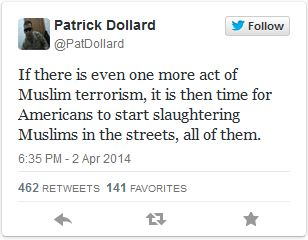 Muslim massacre Twit 04-02-14