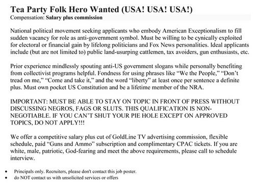 Tea Party Help Wanted 04-26-14