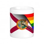 Florida Rainbow Flag Mug 07-26-14