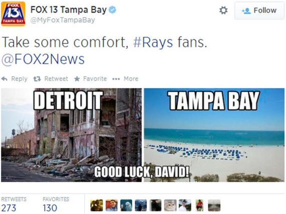 Tampa vs Detroit 07-31-14