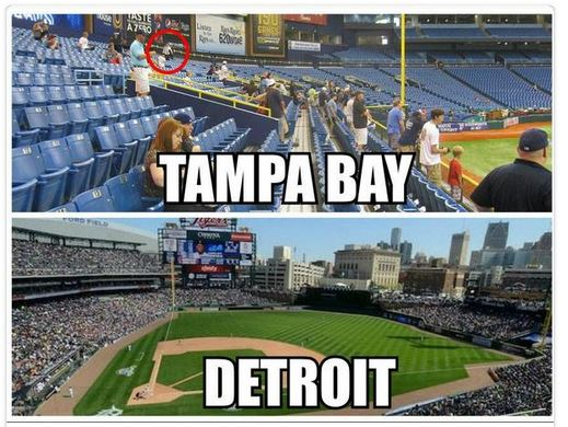 Tampa vs Detroit 2 07-31-14