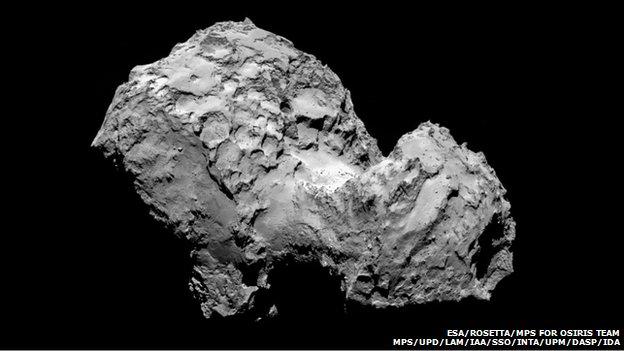 Comet Approach 08-07-14