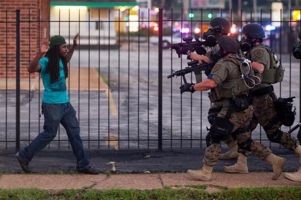 Ferguson Police 08-13-14