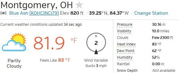 Montgomery Weather 08-03-14