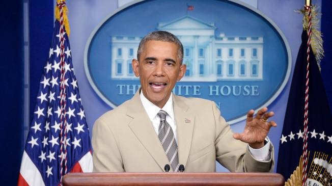 Obama Speaks on the Situation in Ukraine
