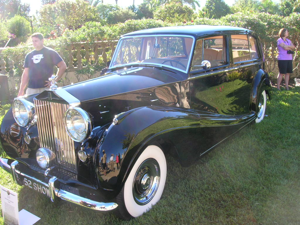 1952 Rolls Royce Silver Shadow.