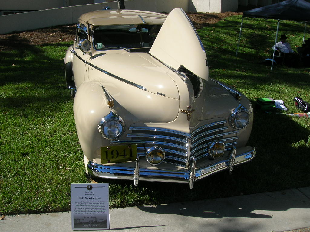 1941 Chrysler Royale.