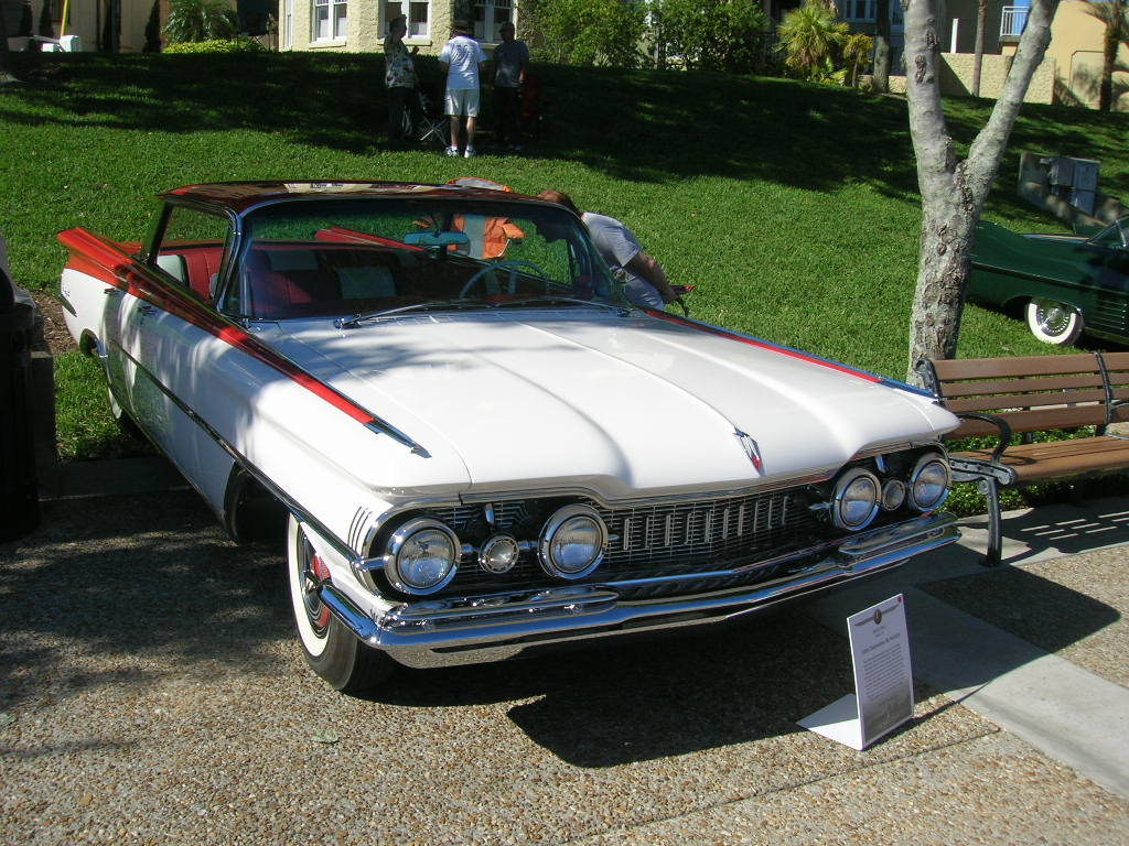 1959 Oldsmoble Ninety-Eight.