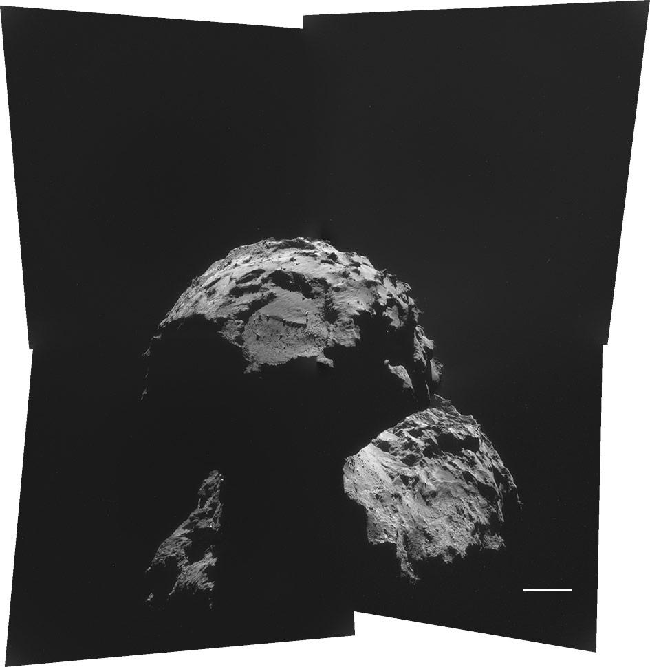 Rosetta Probe Comet 11-13-14
