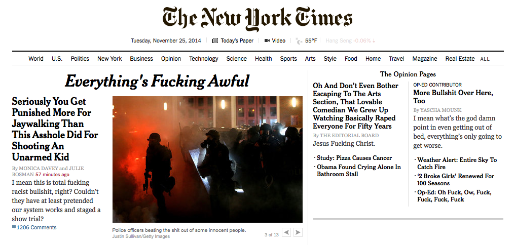 Sneak Peek New York Times 11-25-14