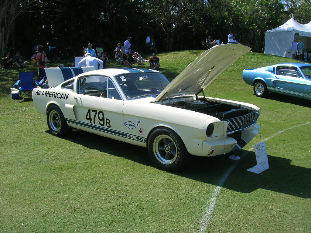1966 Shelby GT 350.