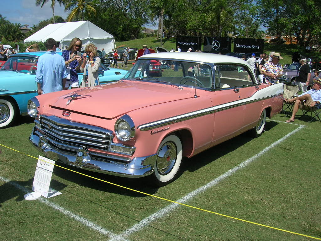 1956 Chrysler Newport.