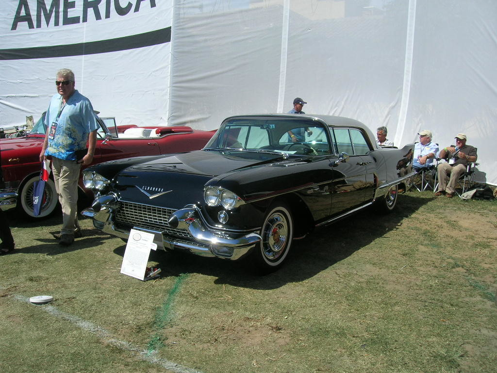 1957 Cadillac Eldorado Brougham.