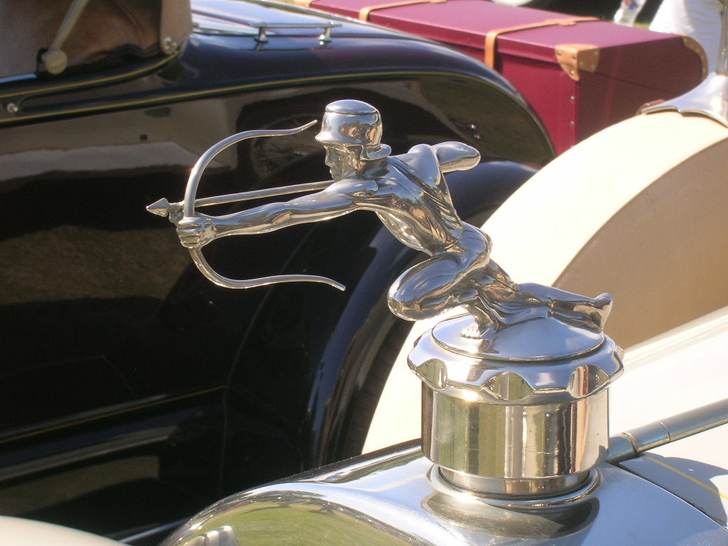 Pierce-Arrow radiator cap.