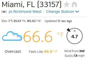 Miami Weather 666 02-05-15