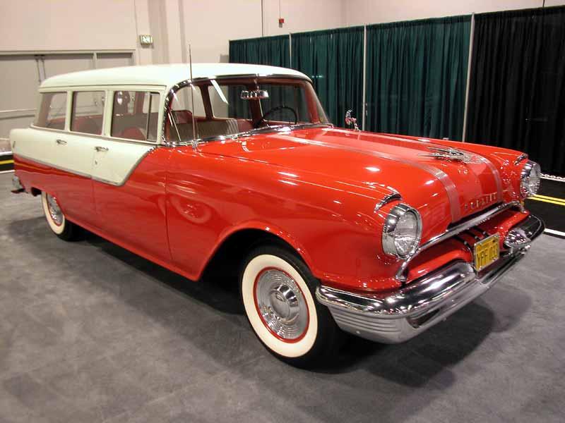 1955 Pontiac wagon