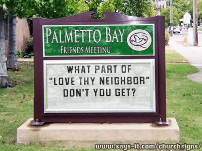 Love Thy Neighbor 03-28-15