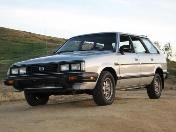 1984 Subaru GL wagon