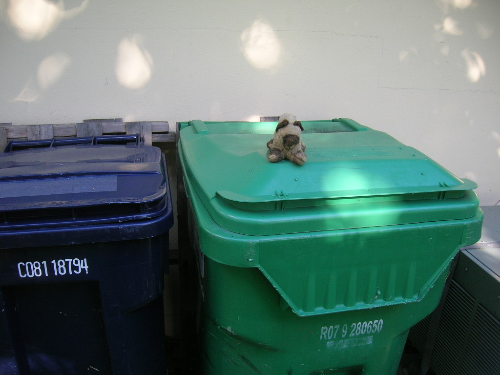 Trash talk.