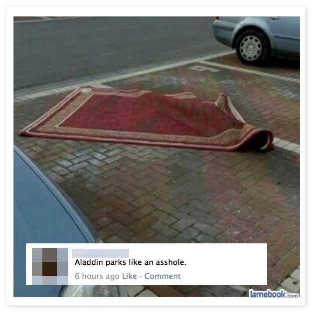 Aladdin Parks His Rug - 05-17-15