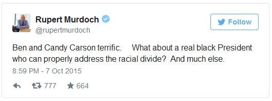 Murdoch Carson Tweet 10-08-15