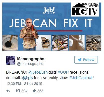 Jeb Can Fix It 1 11-3-15
