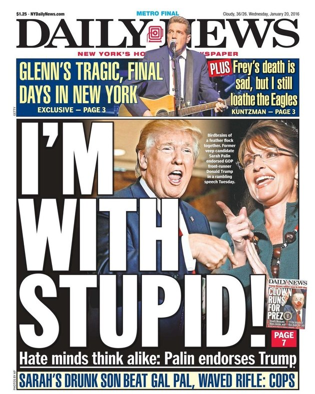 New York Daily News 01-20-16