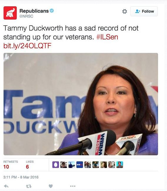 Duckworth Tweet 03-09-16