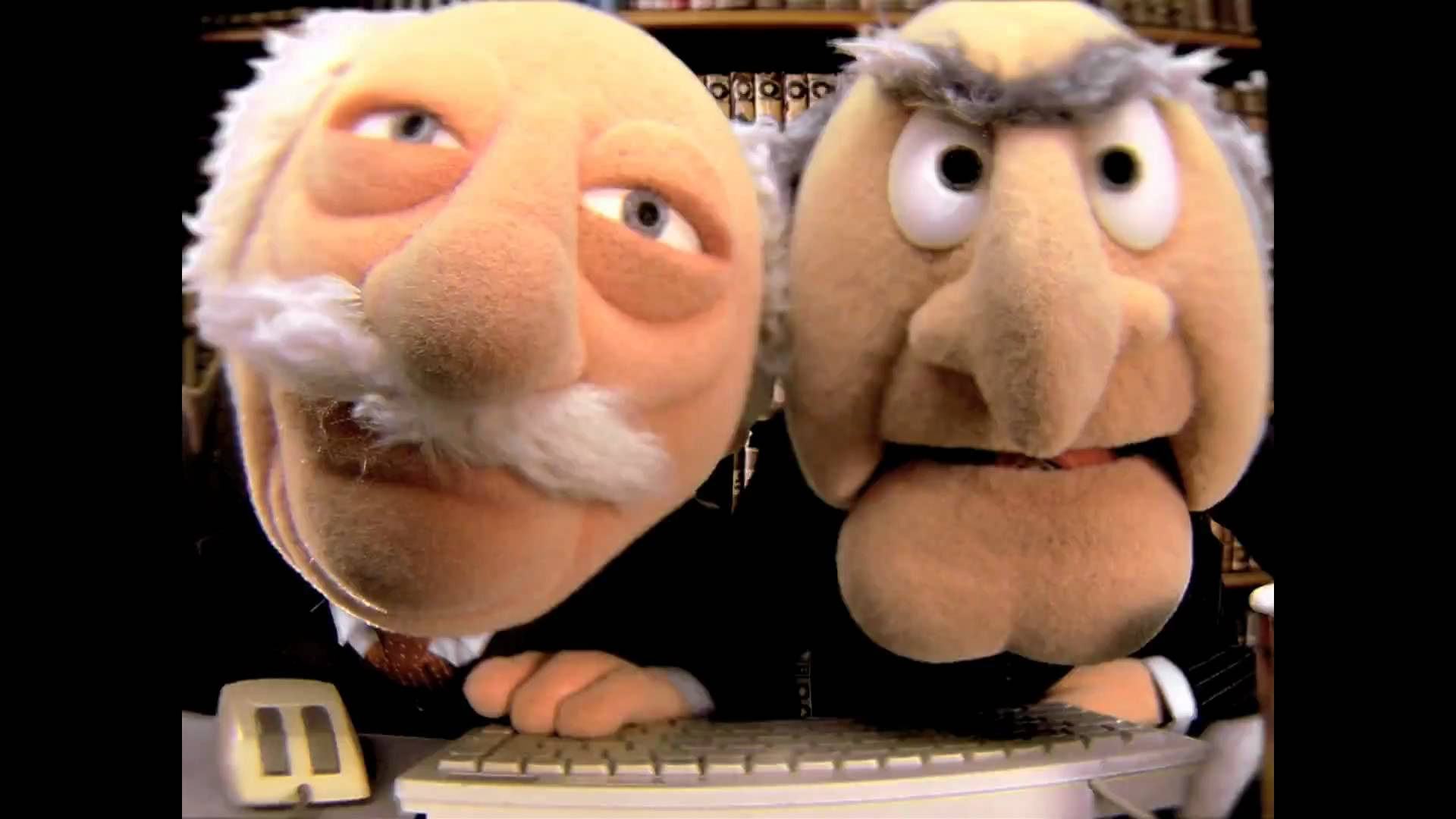 Statler And Waldorf Closeup 07-19-16