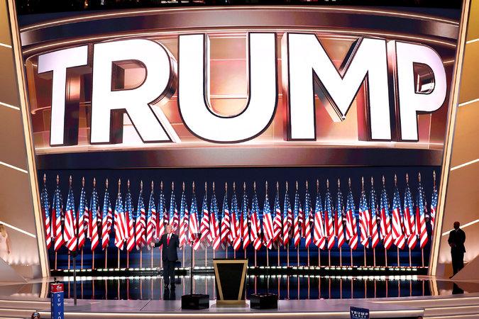 Trump Stage 07-22-16