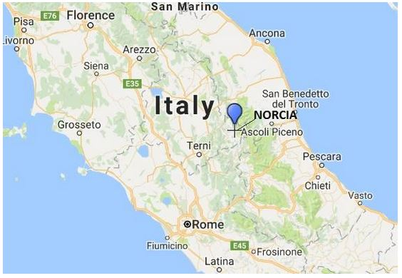 Earthquake in Italy 08-24-16
