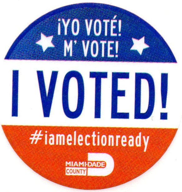I Voted 08-30-16