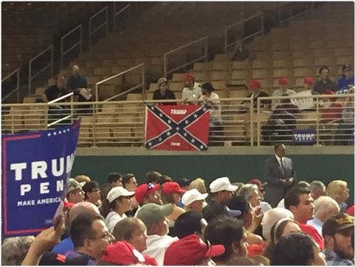Trump Confederate Flag 08-12-16